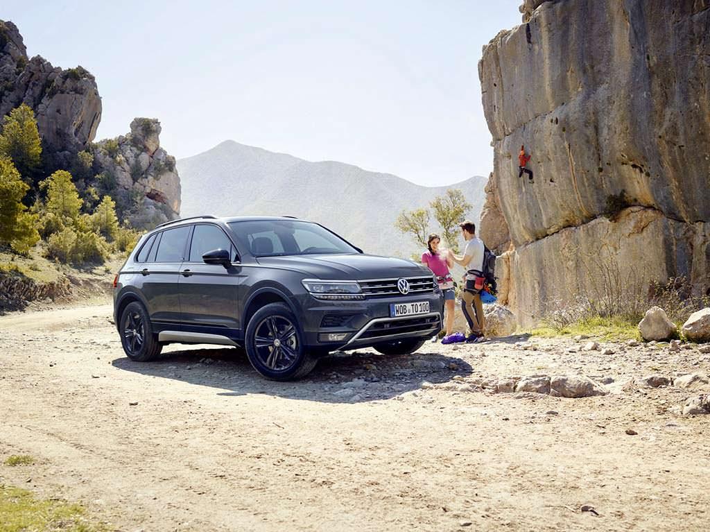 Новый Volkswagen Tiguan Offroad