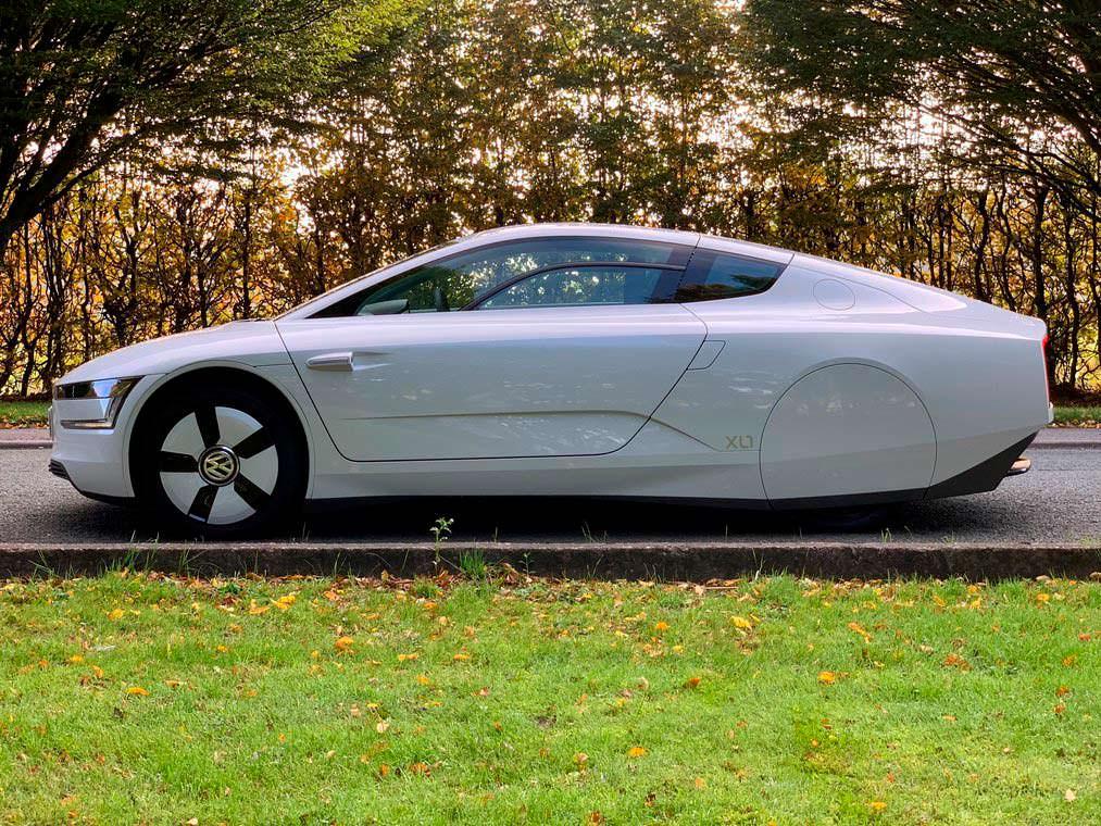 Дизель-гибрид Volkswagen XL1