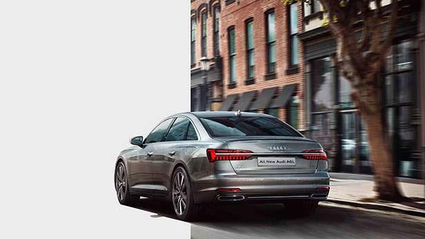 Длиннобазная Audi A6L в кузове C8 для рынка Китая