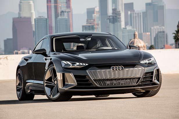Audi e-tron GT Concept - убийца Tesla Model S