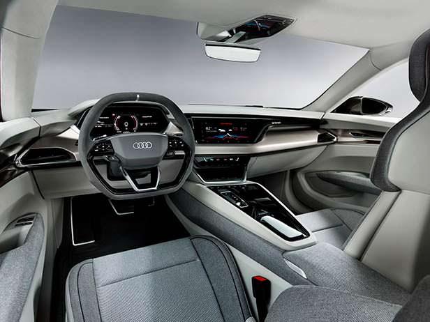Фото внутри Audi e-tron GT Concept