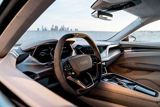 Салон Audi e-tron GT Concept