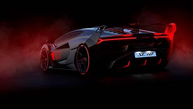 Гиперкар Lamborghini SC18 в единственном экземпляре