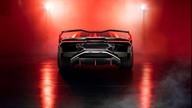Новая Lamborghini SC18