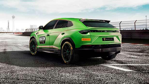 Гоночный Lamborghini Urus ST-X Concept