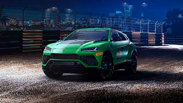 Гоночная версия Lamborghini Urus ST-X Concept 2018