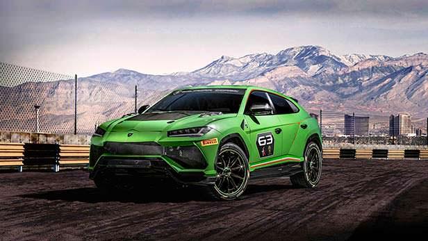 Гоночная Lamborghini Urus ST-X Concept 2018