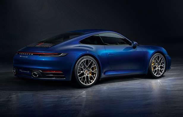 Новая Porsche 911