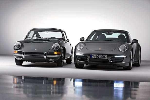 Первая и последняя Porsche 911
