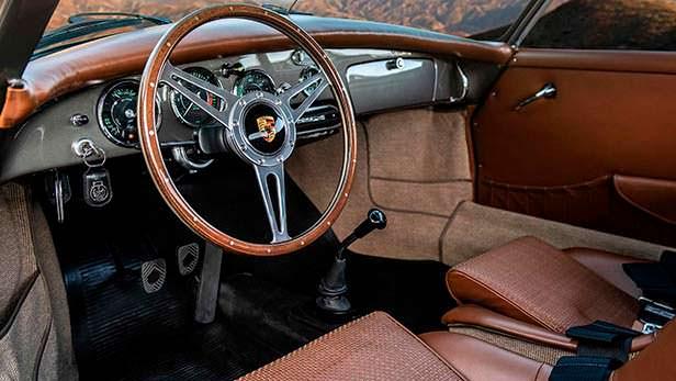 Обновленный салон Porsche 356B Cabriolet