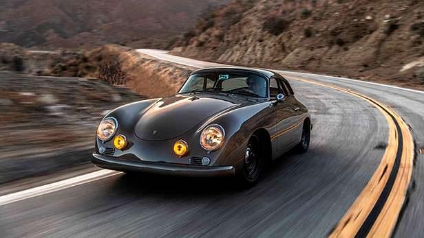 Классический Porsche 356Джона Отса от Emory Motorsports