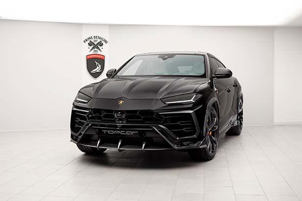 Черный Lamborghini Urus. Тюнинг от TopCar