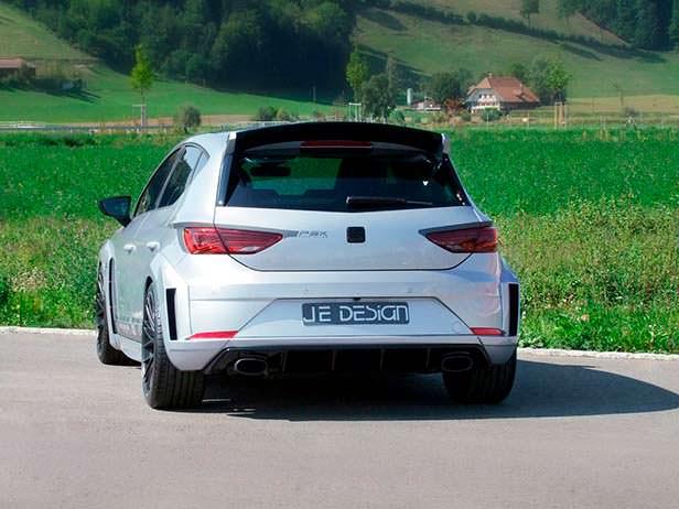 Тюнинг Seat Leon Cupra 300. Обвес кузова от JE Design