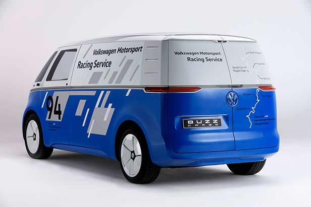Электро-фургон поддержки Volkswagen I.D. Buzz Cargo