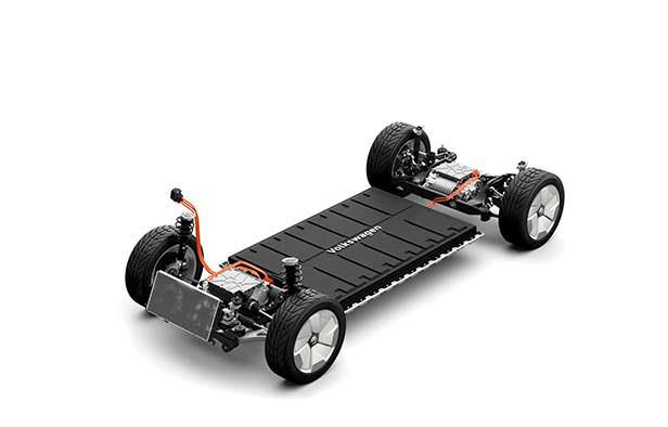 Модульная платформа MEB Volkswagen I.D. Buzz Cargo