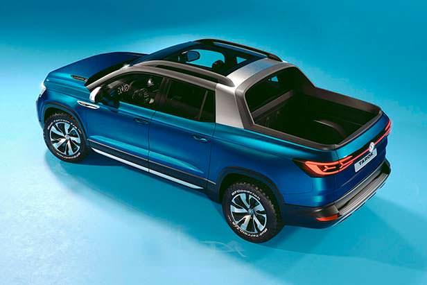 Стильный пикап Volkswagen Tarok Concept 2018