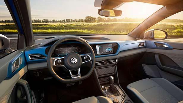 Фото салона Volkswagen Tarok Concept 2018