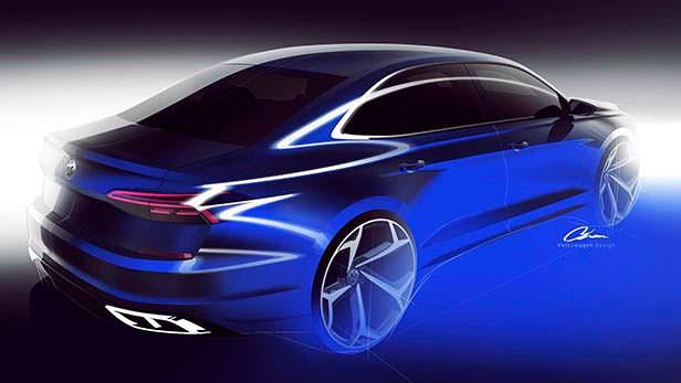 Новый Volkswagen Passat 2020