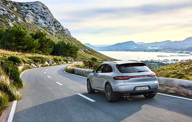 Обновленный Porsche Macan S 2019