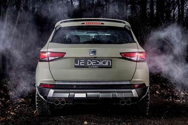 Тюнинг SEAT Ateca All Terrain к бездорожью от JE Design