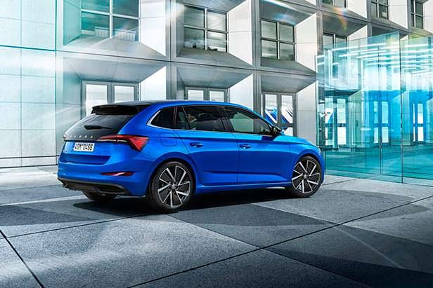 Skoda Scala - ответ Audi A3