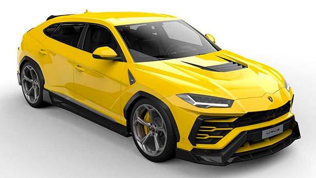 Обвес кузова Lamborghini Urus от Vorsteiner