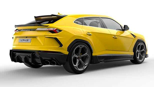 Lamborghini Urus. Карбоновый обвес от Vorsteiner