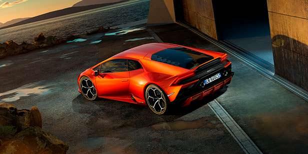 Новый Lamborghini Huracan EVO