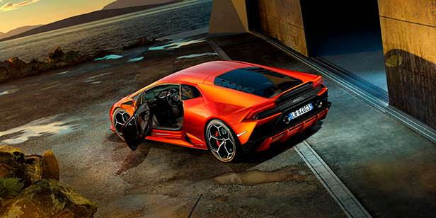 Новая Lamborghini Huracan EVO