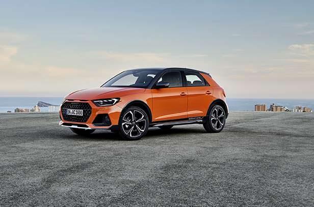 Компактный кроссовер Audi A1 citycarver