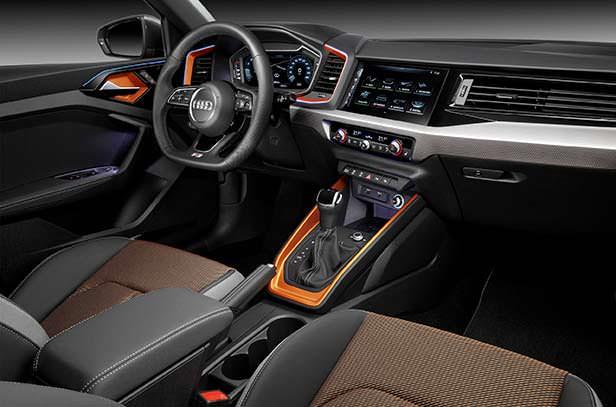 Фото внутри Audi A1 citycarver