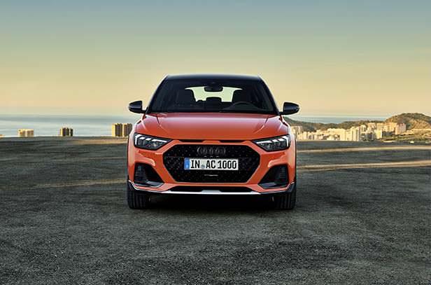 Компактная Audi A1 citycarver