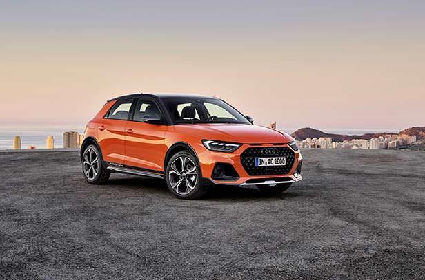 Новая Audi A1 citycarver