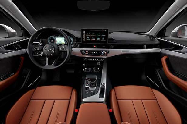 Фото салона Audi A4 рестайлинг 2020