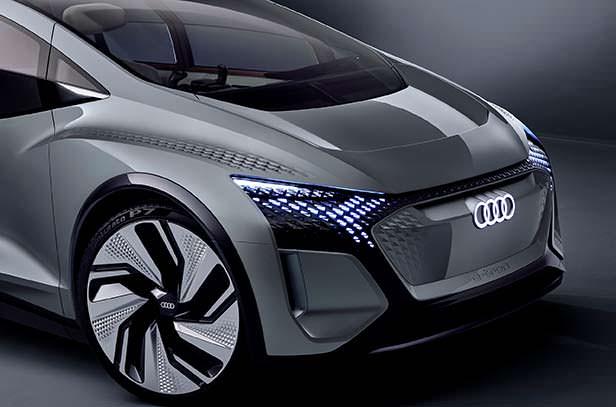 Прототип Audi Al:me 2019 года