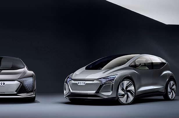 Электрокар Audi Al:me 2019 года
