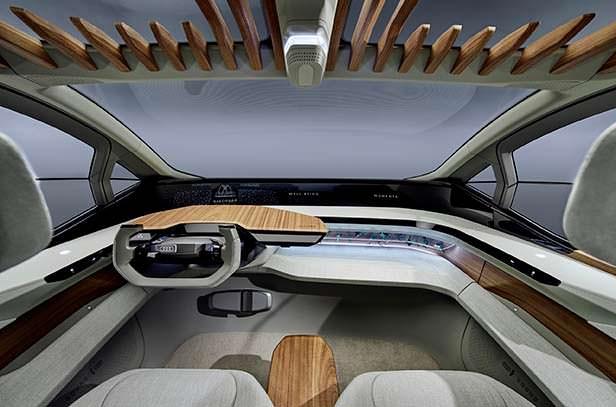 Фото внутри Audi Al:me 2019 года