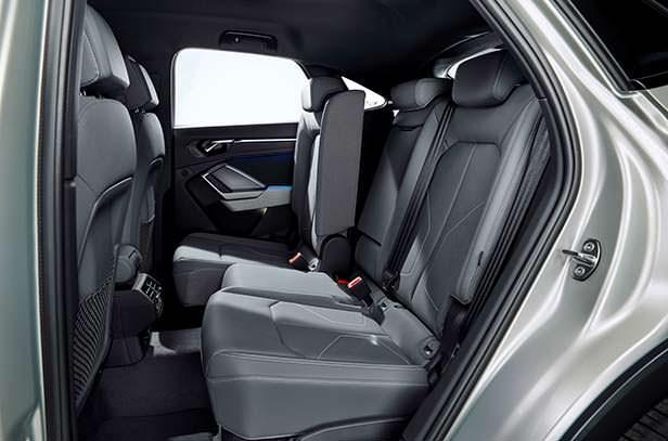 Задние сиденья Audi Q3 Sportback