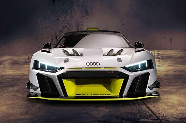 Суперкар для гонок Audi R8 LMS GT2
