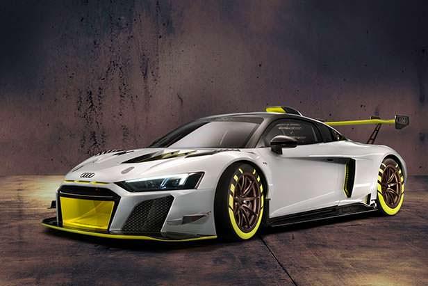 Трековая Audi R8 LMS GT2