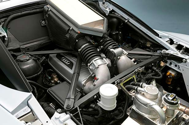 Двигатель Audi R8 LMS GT2