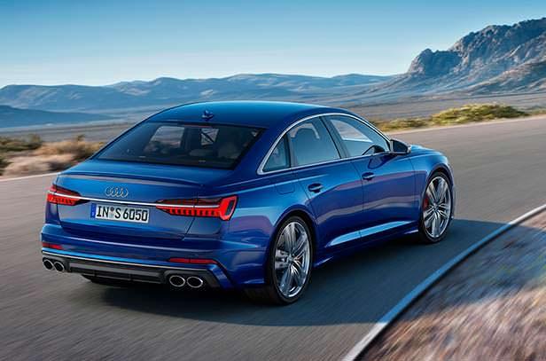Дизельная Audi S6 2020