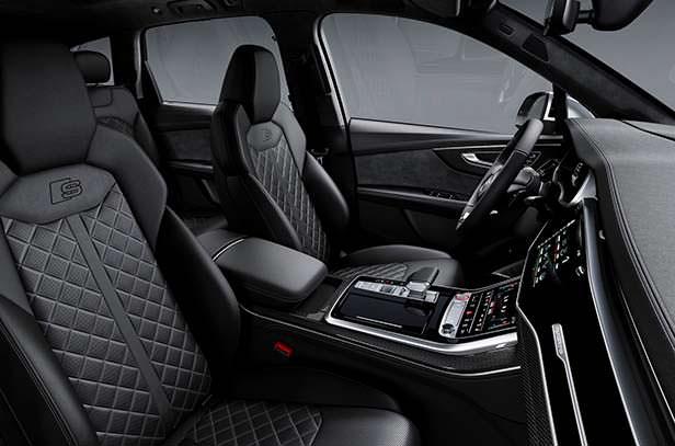 Интерьер Audi SQ7 2020 года