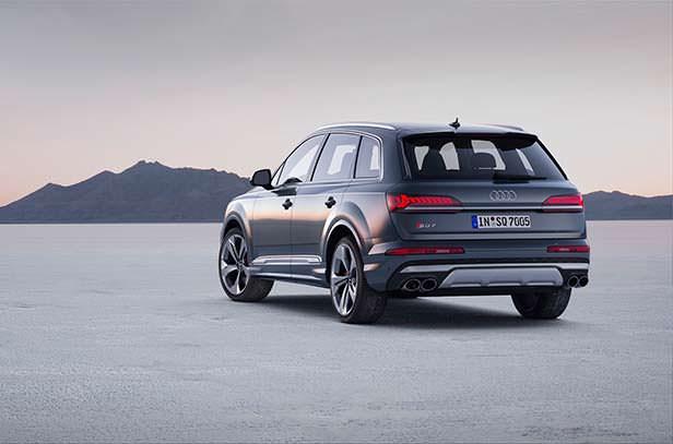 Audi SQ7 рестайлинг