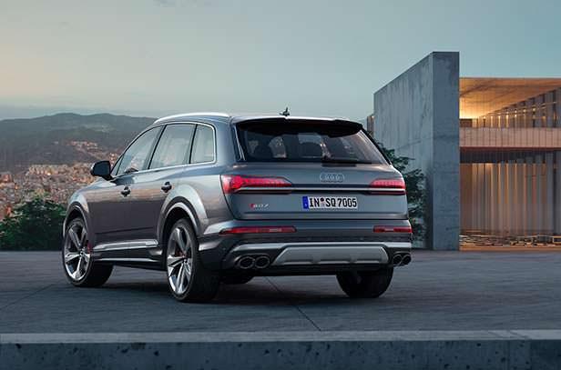 Обновленная Audi SQ7 2020 года