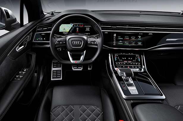 Фото внутри Audi SQ7 2020 года