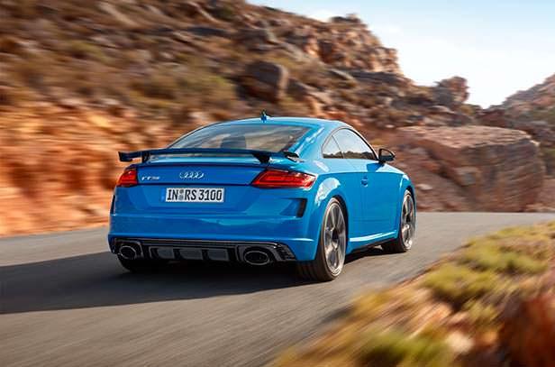 Рестайлинг Audi TT RS 2020 года