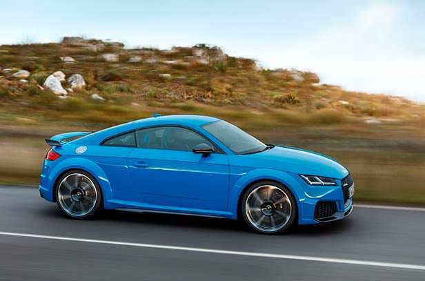 Audi TT RS. Обновление 2020