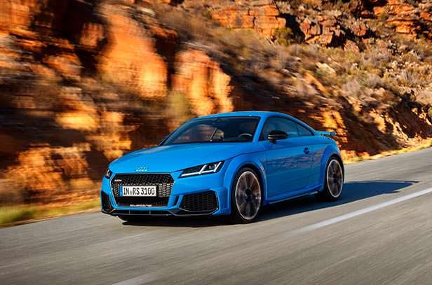 Audi TT RS Coupe рестайлинг