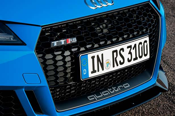 Радиаторная решетка Audi TT RS 2020